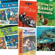 Learn to Read at Home with Bug Club: White Pack (Pack of 6 Reading Books with 4 Fiction and 2 Non-Fiction) by Michaela Morgan