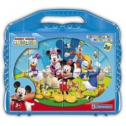 Clementoni Mickey Mouse Club House Cubes Puzzle (24 Piece)