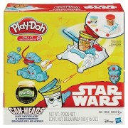 Play-Doh Star Wars Luke Skywalker & Snowtrooper Featuring Can-Heads + Extra Play-Doh Glow Doh Modeling Compound...