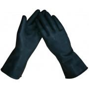 """Latex ´´dikke"""" huishoud- / Industriehandschoenen Zwart"""