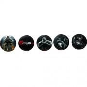 Gears of War 3 Ansteck-Buttons Box Art (5)
