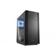 Carcasa M25-W 7.1, MiddleTower, Fara Sursa, Negru