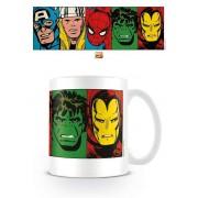 Marvel Comics Mug Faces