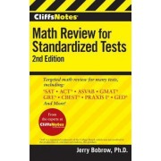 CliffsNotes Math Review for Standardized Tests by Jerry Bobrow