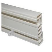 SPP2 - Sina din plastic pentru perdele cu 2 canale, 1,5 m