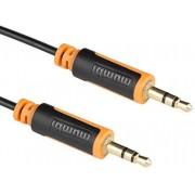 Mumbi Jack Cable de audio 3,5 mm a 3,5 mm conector con conectores chapados en oro 1,5m