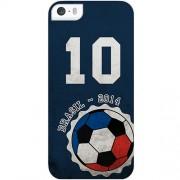 Husa Capac spate Brazilia - 2014 Albastru APPLE iPhone 5s, iPhone SE Muvit
