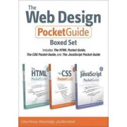 The Web Design Pocket Guide Boxed Set (includes the HTML Pocket Guide, the JavaScript Pocket Guide, and the CSS Pocket Guide) by Bruce Hyslop