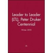 Leader to Leader Winter 2010 by Ltl