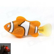 ROBO peces magicos flash Pet Fish juguete - Naranja + Negro (2 * L1154)