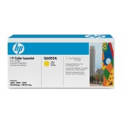 Cartus toner original Q6002A (124A Yellow) HP Color LaserJet CM1017 MFP 1600 2600n 2605 2605dn 2605dtn CM1015