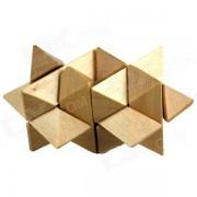 Rompecabezas de madera educativo del juguete desbloqueo para ninos / ninos - Madera