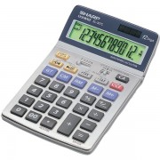 Calcolatrice da tavolo Sharp EL 337 C