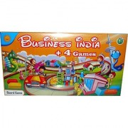 Toyzstation Business India Plus 4 Games Board Game