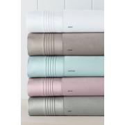 1000 Thread Count Egyptian 100% Cotton Sateen Sheet Set - Taupe T-Shirt