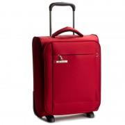 Kis szövetborítású bőrönd CARLTON - Titanium Trolley Case 040J04522 Red