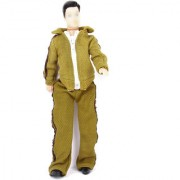 Barbie Doll Clothes Casual Clothing Fit Ken - Long Sleeves Coat with Zipper And Pants With Elastic Band