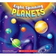 8 Spinning Planets by Brian James