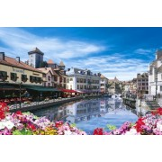 Annecy capital of water beautiful super master EX test of gold puzzle 2542 super small piece - France - 76-606 (japan import)