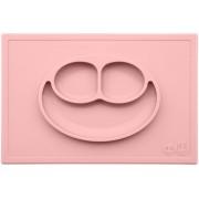 Набор детской посуды Ezpz Happy Mat Blush нежно розовый