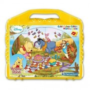 Clementoni - Cubos 12 piezas Winnie The Pooh 41165.8