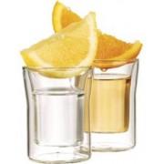 Cucina Dimodena 6 verres à shot double paroi