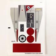 "Lego Original Sticker Sheet for The Star Wars Set #75039 ""V-Wing Starfighter"""