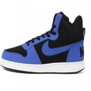 Nike Court Borough Mid Sneakers(Black, Blue)