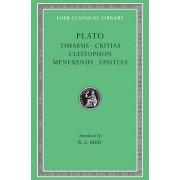 Timaeus Critias Cleitophon Menexenus Epistles: v. 9 by Plato
