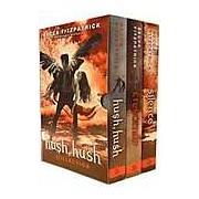 Becca Fitzpatrick Hush Hush Series Novel Collection 3 Books Set