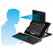 Професионален охладител за лаптоп с накланяща се подложка
