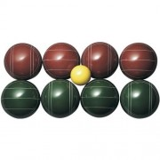 St. Pierre Tournament Bocce Set with Nylon Bag (TB1) - Made in USA by St. Pierre