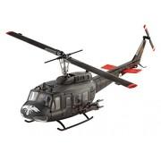 "Revell GmbH 04983 ""Bell UH-1H Gunship Kit di Modello in plastica, scala 1: 100"