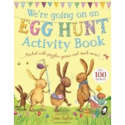 We're Going on an Egg Hunt Activity Book by Laura Hughes