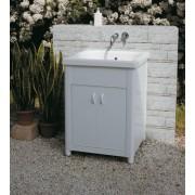 Lavatoio per esterno in Ceramica Corallo 60x50 con strizzatoio