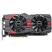 Asus GeForce GTX960-DC2OC-2GD5-Black Scheda Video da 2 GB, Nero/Rosso