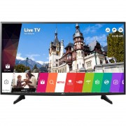 "LED TV LG 49"" 49UH6107 ULTRA HD SMART BLACK"