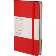 Moleskine Address Book Large, Red