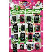 Day I phone ERASER 16 PCS FOR KIDS (IN ONE CHART THERE IS 16 PCS) (2 Charts)