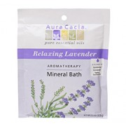 MINERAL BATH SALT (Relaxing Lavender) 1 Packet