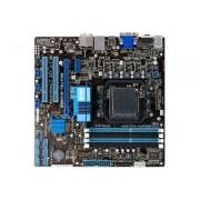 ASUS M5A78L-M/USB3 - Carte-mère - micro ATX - Socket AM3+ - AMD 760G - USB 3.0 - Gigabit LAN - carte graphique embarquée - audio HD (8 canaux)