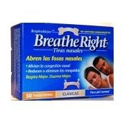 Breathe Right Tiras Nasales Med/Peq 30 unidades