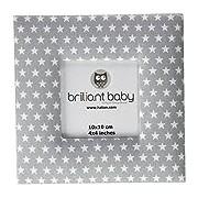 briljant Baby, crème, Sam Photos, 10 x 10 cm, gris