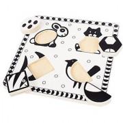Bigjigs Toys BJ515 Pets Black and White Puzzle