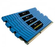 Memorie Corsair Vengeance Low Profile Blue 16GB (4x4GB) DDR3 PC3-12800 CL9 1600MHz 1.5V XMP Dual Channel Kit, CML16GX3M4X1600C9B