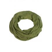 Delia letní kroucená šála proužek zelená