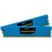 Memorie Corsair Vengeance LP Blue 4GB DDR3 1600 MHz Dual Channel CL9