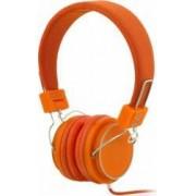 Casti cu microfon iBOX D-12 portocalii