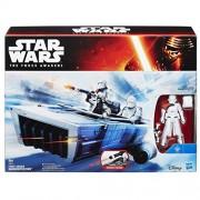 Hasbro B3673360 - Star Wars E7 Class II Vehículo First Order Snowspeeder