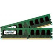 Crucial 4GB DDR2 PC2-6400 Kit 4GB DDR2 800MHz ECC geheugenmodule